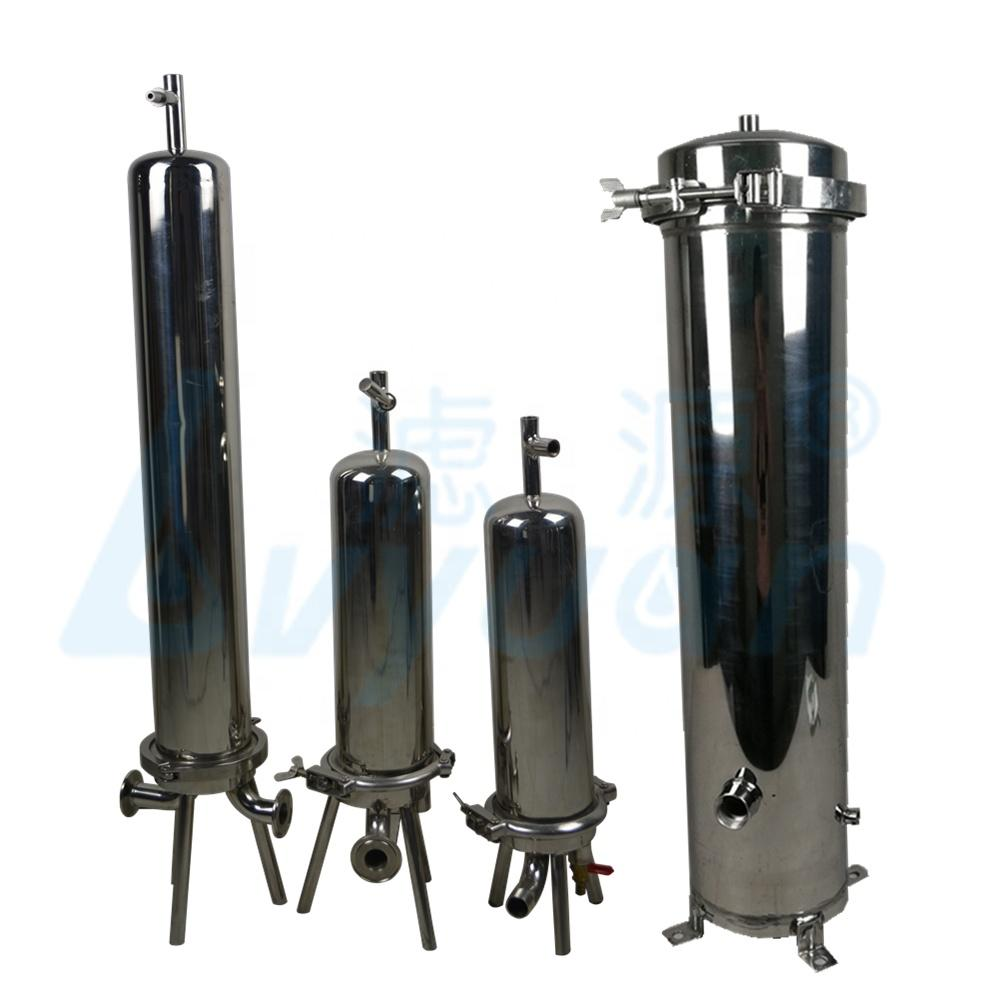 Discount price stainless steel housing 5 10 20 30 40 inch liquid filter housing water cartridge filter type