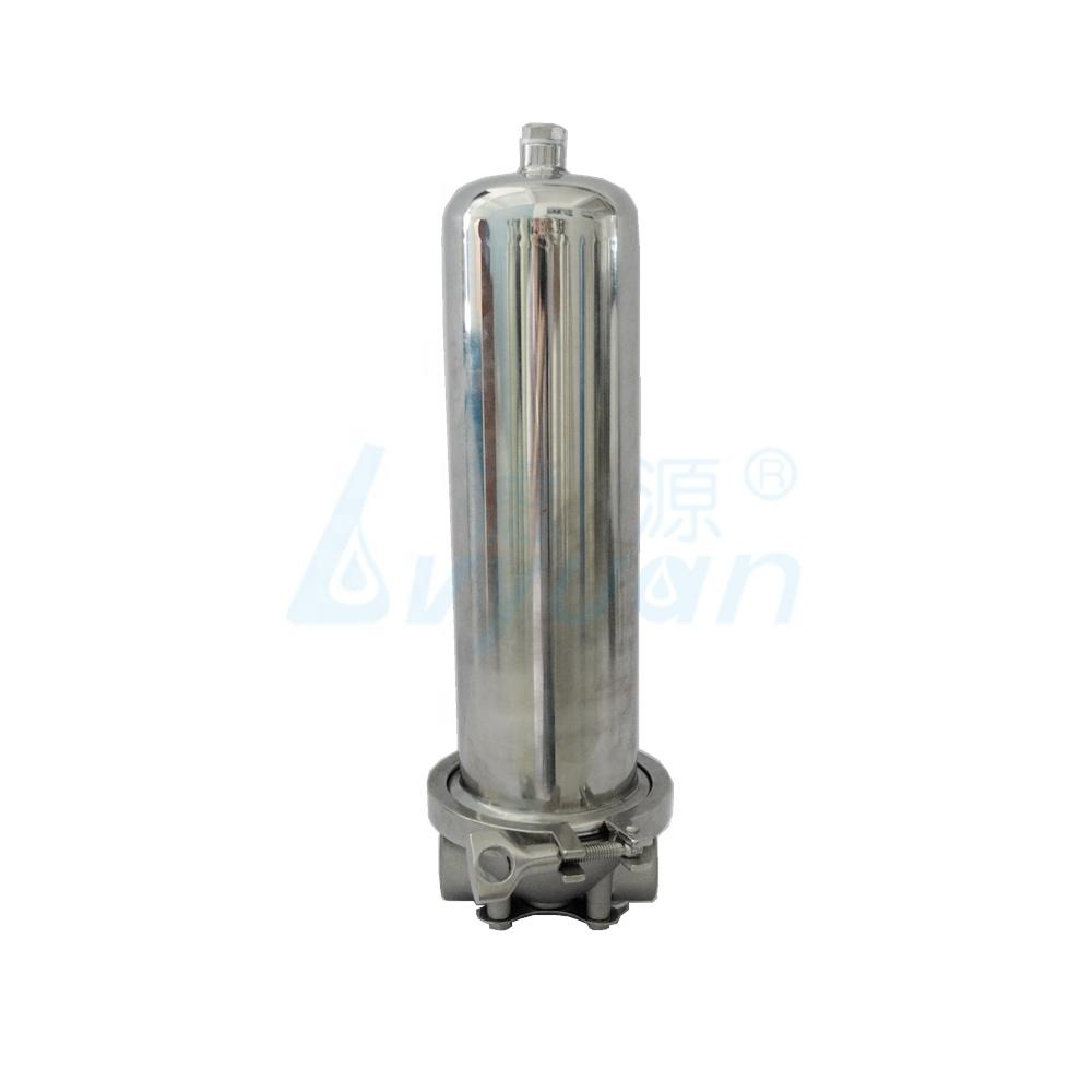 10 20 30 40 inch stainless steel water filter housing/single cartridge filter housing for liquid filtration