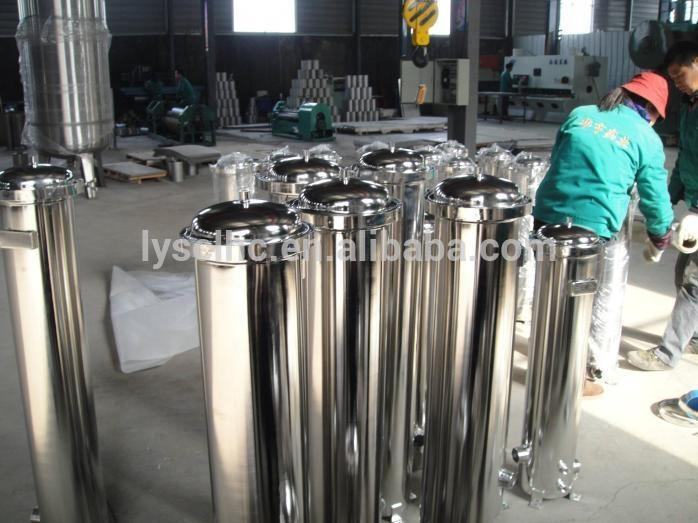 SS Industrial Stainless Steel Cartridge Filter Housing for RO System
