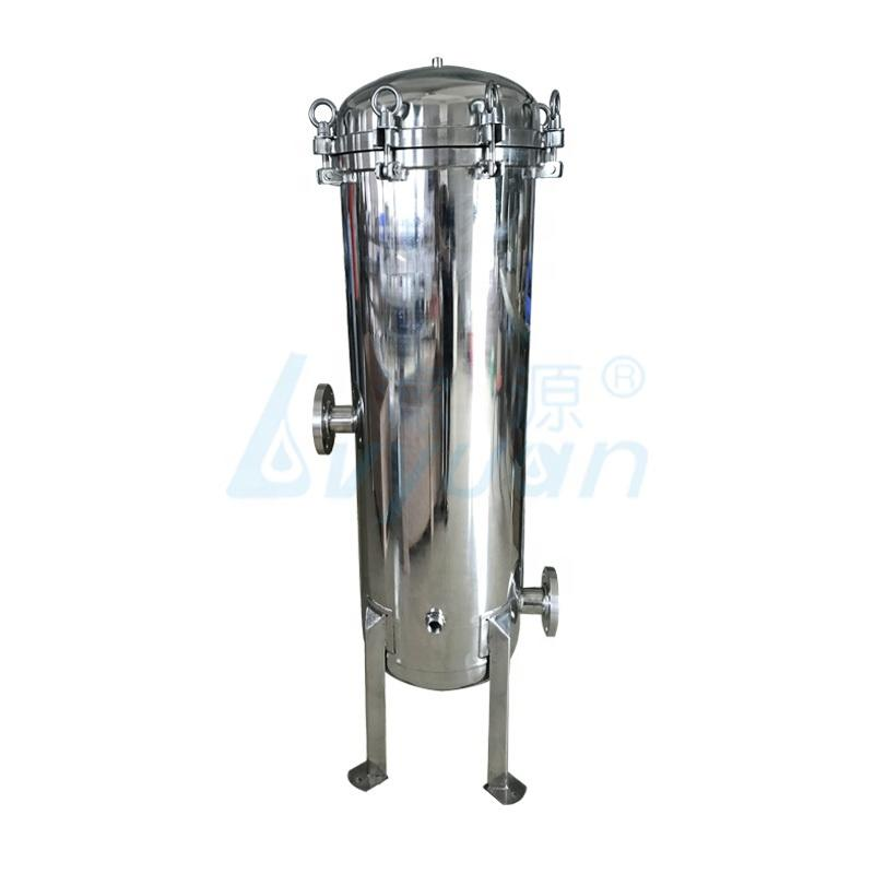 ss304 ss316 water filter stainless steel cartridge filter housing for industrial water filtration