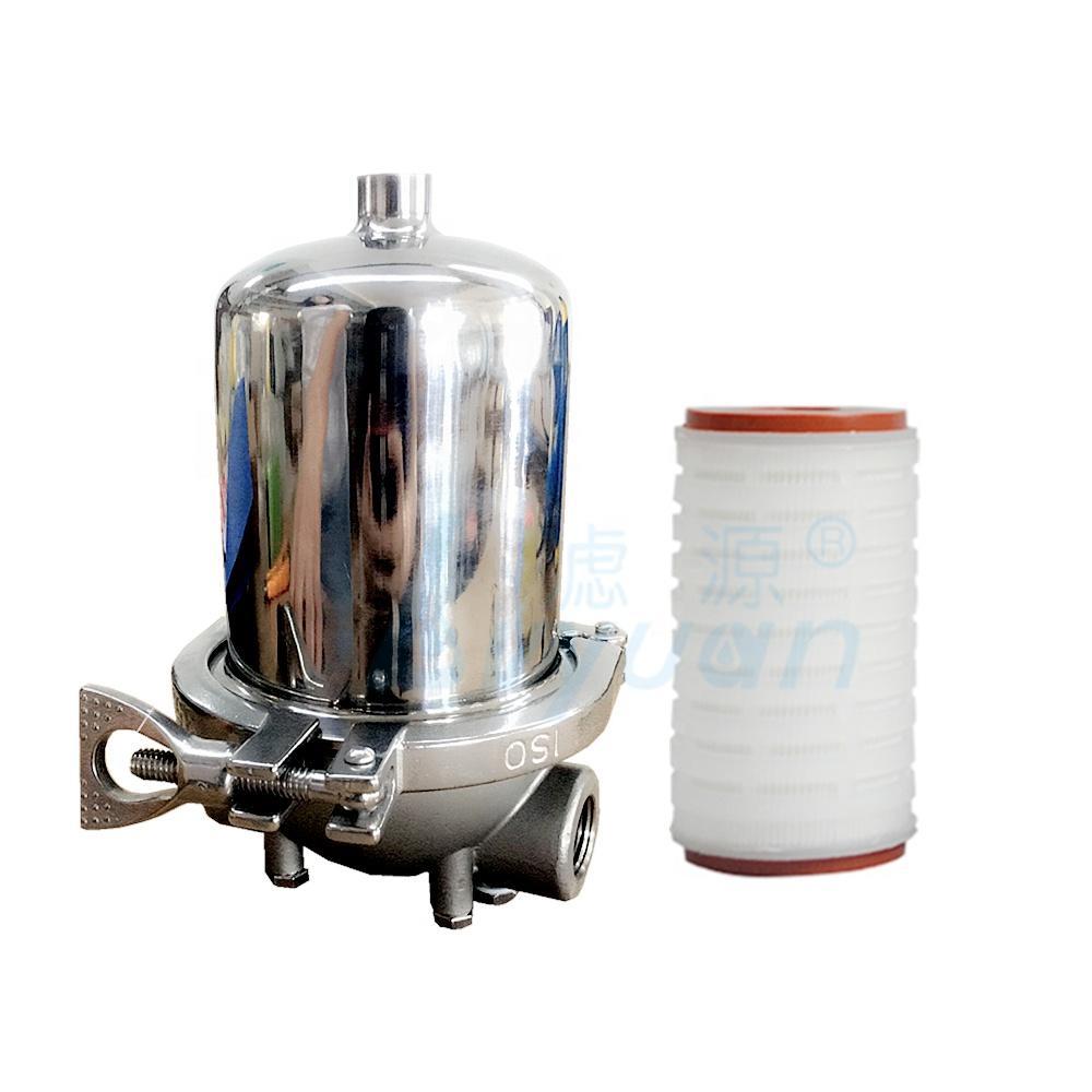 ss304 single Cartridge Filter Housing Clamp type 10'' 20'' 30'' 40'' Filter Housing stainless steel water filter