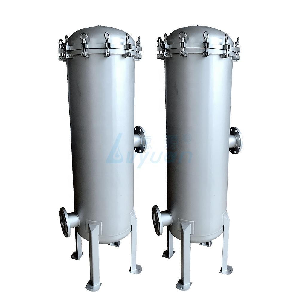 40 inch stainless steel precision water filter housing with cartridge for water treatment
