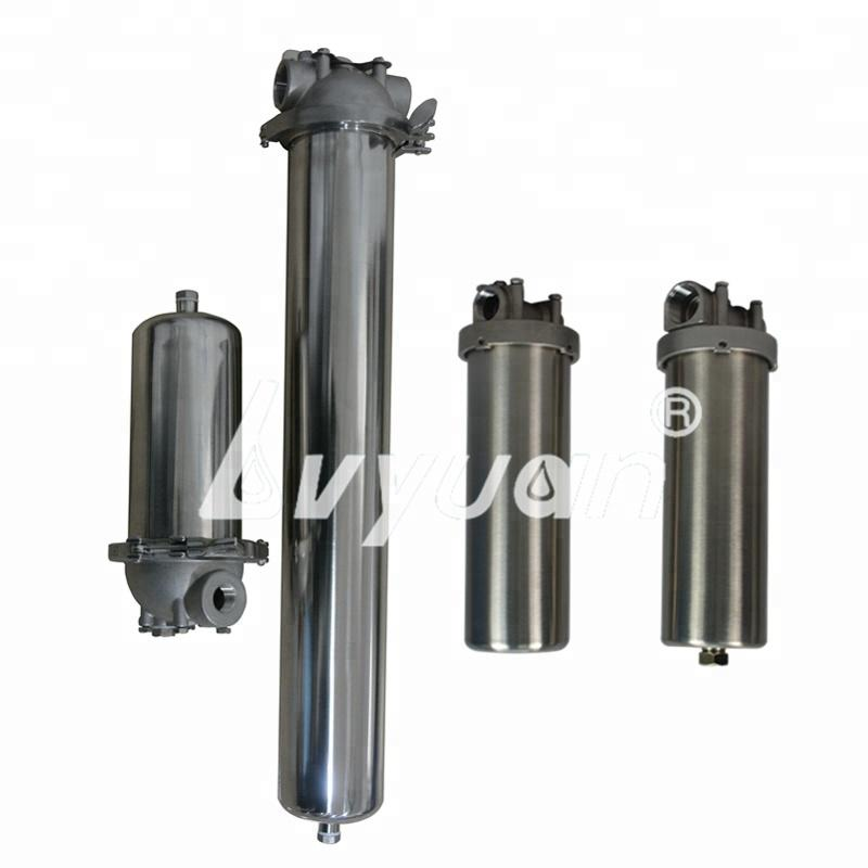 Commercial stainless steel single cartridge water filter housing 10 inch from Guangzhou Manufacturer