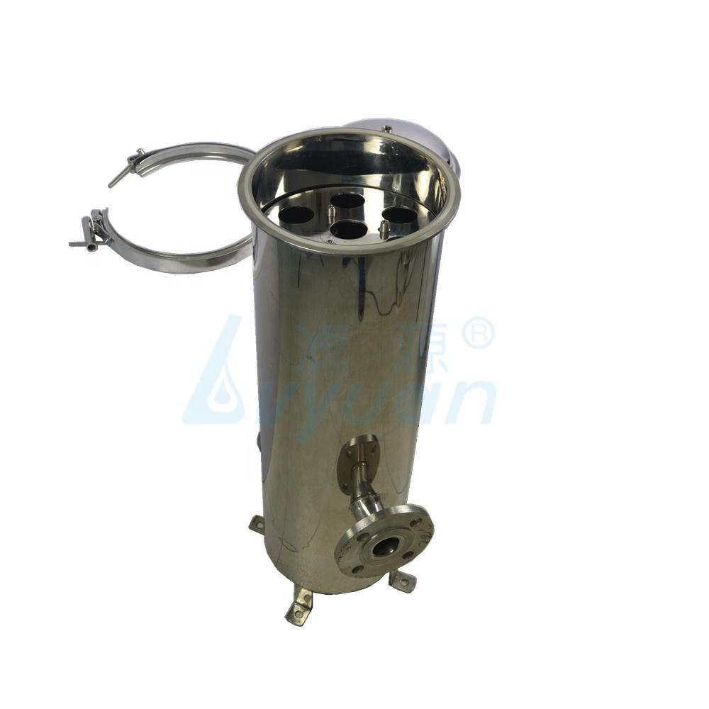 10 20 Inch Industrial high pressure Stainless Steel Cartridge Water Filter Housing