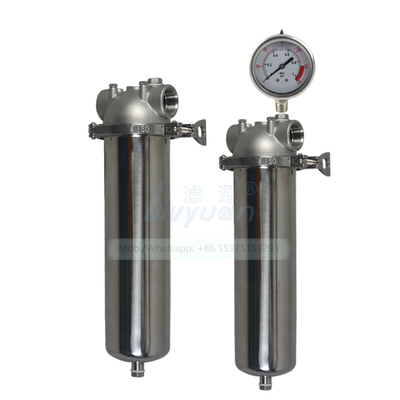 Water purification filter suppliers stainless steel SS304 316 salt water purifier housing for industrial water treatment