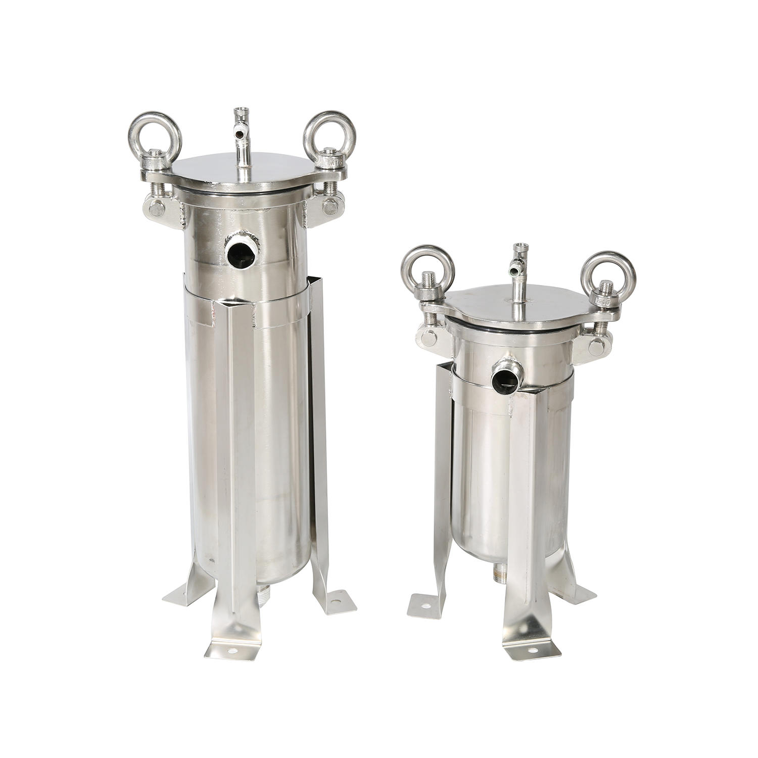 SS stainless steel cartridge filter housing 40 inch