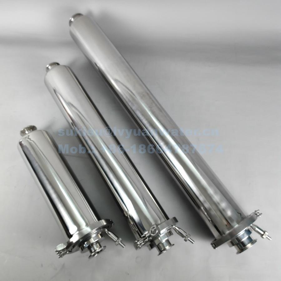 Floor standing type sanitary grade stainless steel 316L 10/20 inch single fluid filter housing