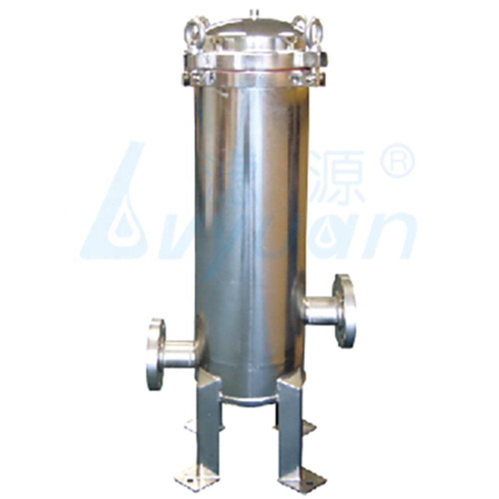 Industrial 304 316 316L Stainless Steel Cartridge Filter Housing /water filter with 10'' 20'' 30'' 40'' Length