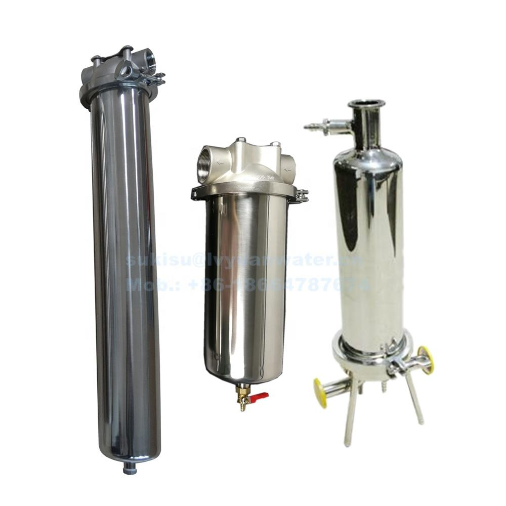 316L Stainless Steel Single Cartridge Filter Housing 20 Inch Code 7 8 0