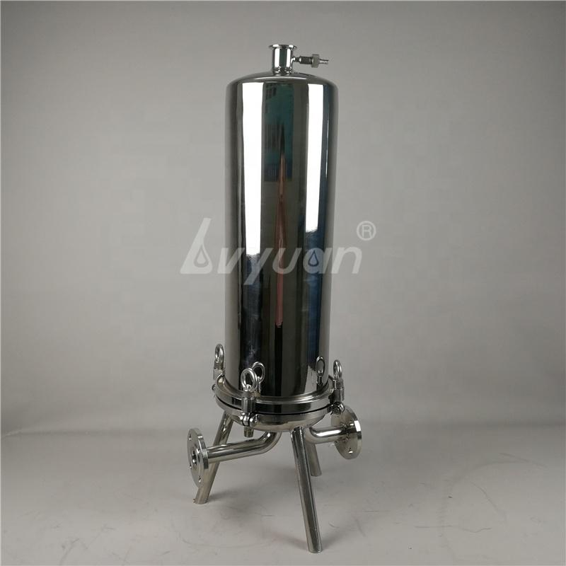 Security Cartridge Filters Housings SS 306/316L stainless steel precision filter for RO water treatment machine