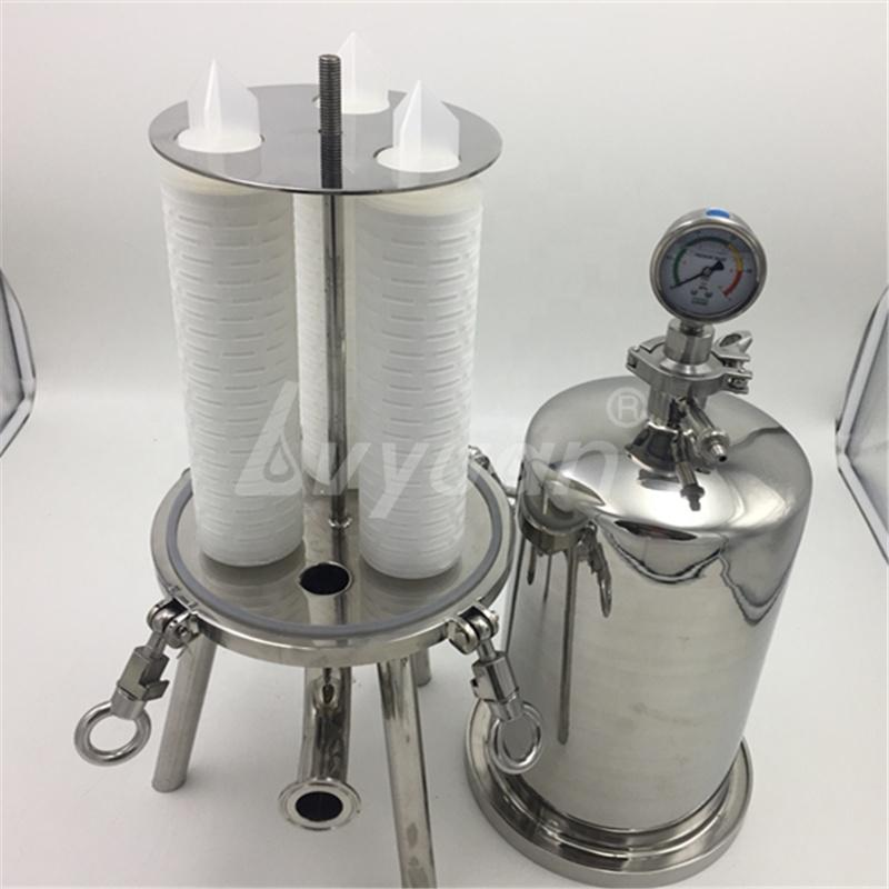 Price Stainless Steel membrane Filter Housing Wine with 0.2 0.45 micron filtration rate