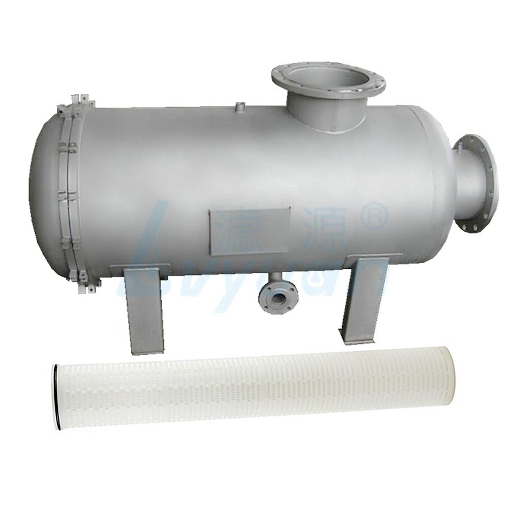 pleated filter cartridge high flow housing filtration housing ss housing for industrial liquid purification