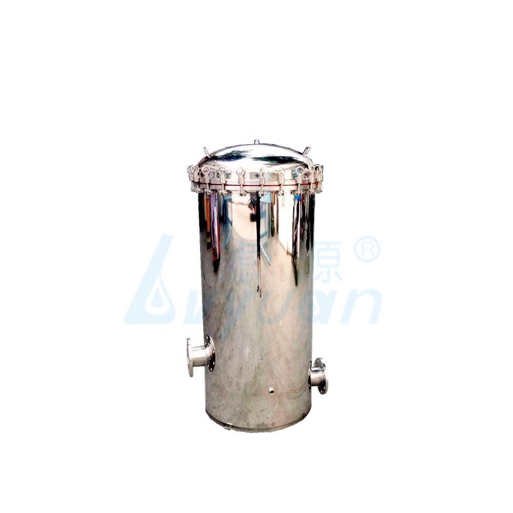 stainless steel lquid/water Multi-Cartridge Filter Housing ss304 cartridge Filter Housing