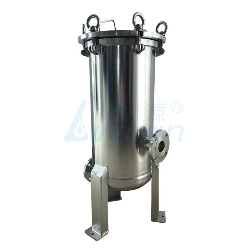 China supplier 20 filter core 40 inch stainless steel cartridge filter housing for beer filtration