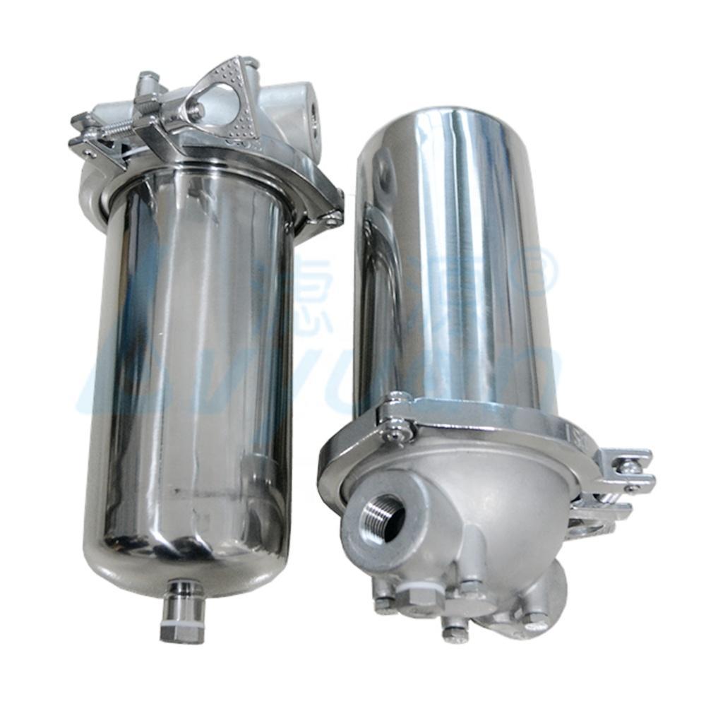 single cartridge water filter stainless steel filter housing 5 10 20 30 40 inch