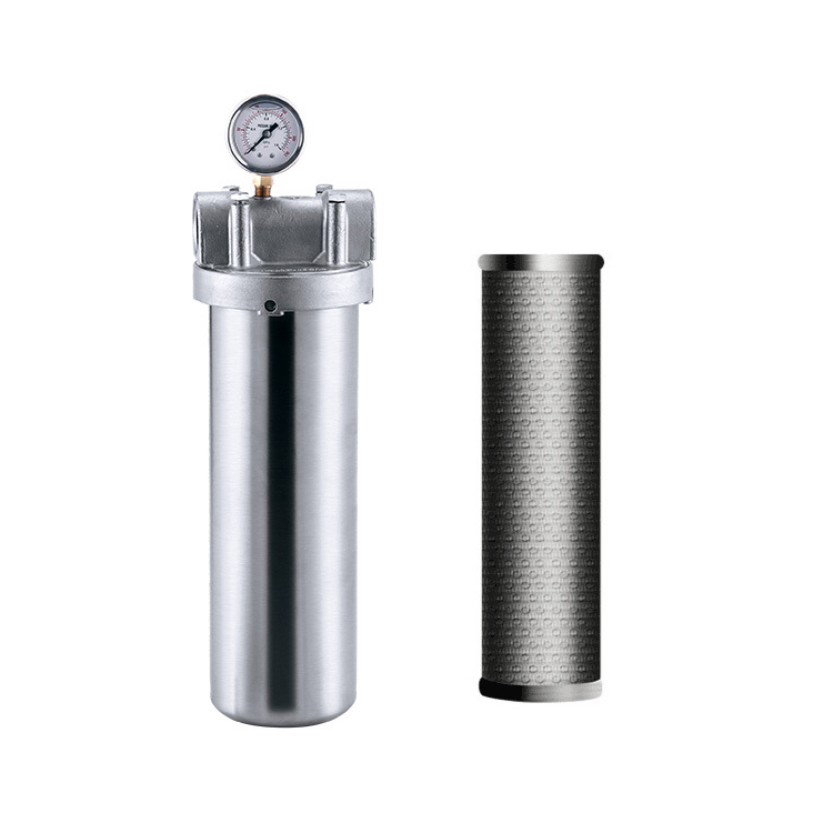 Custom 20 rounds positions cores element 30 40 inch SS 304 316L Stainless Steel Multi Cartridge waterFilter Housing