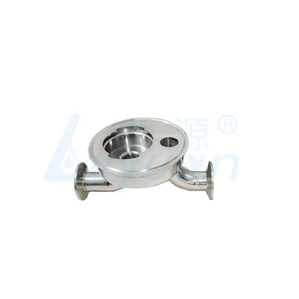 5 inch single cartridge filter housing water stainless steel sanitary filter housing for liquid filtration