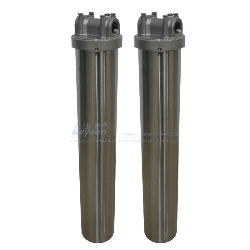 Single filter SS304 316L stainless steel 20