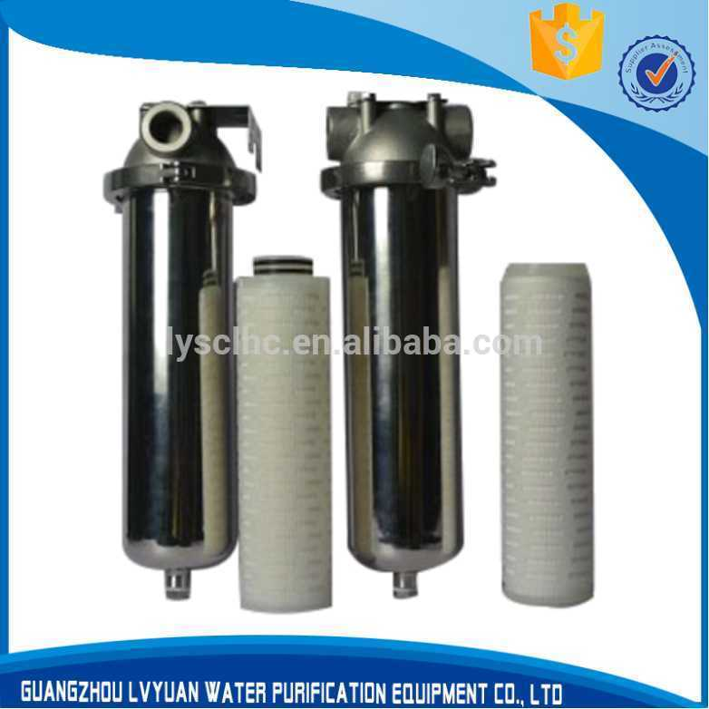 10 20 30 40 inch Single Round Cartridge filter housing SS304 SS316 stainless steel