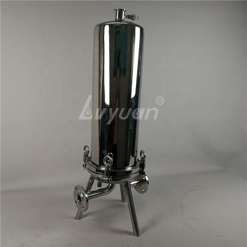 SS 304 316L Stainless Steel Domed Filter Housing for lenticular/Cartridge