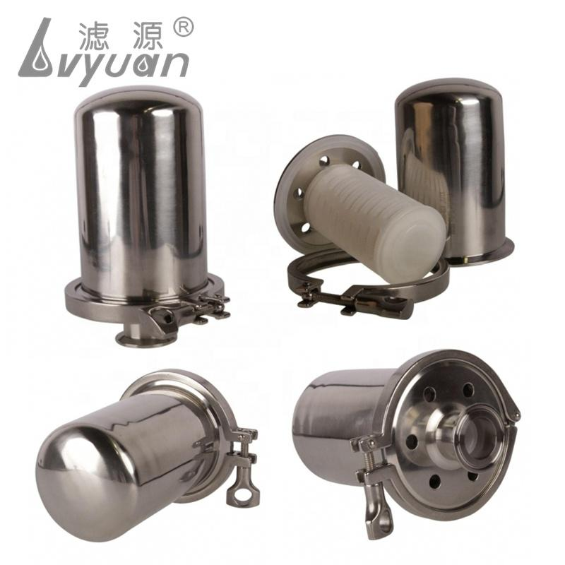 Ss 304 316 Stainless Steel Filter Housing Sterile Air Filter for Compressed Air Filtration System