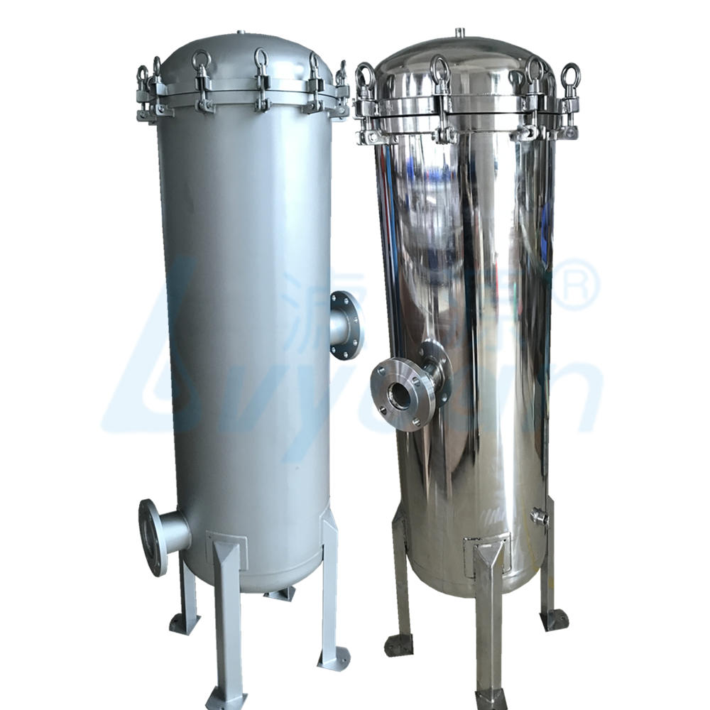 China Factory supply cartridge filter stainless steel housing for water purification