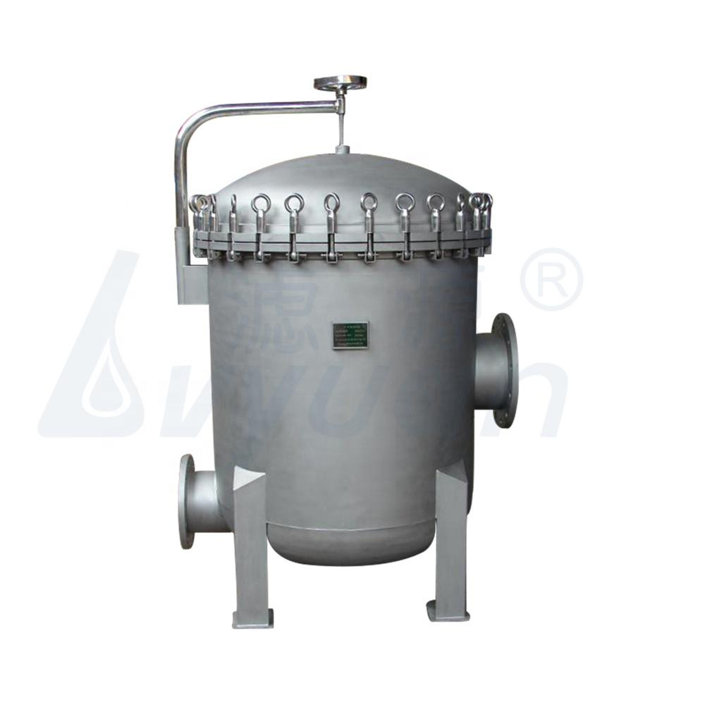SS304 316 Multi-Cartridges Water Filter Housing stainless 10 20'' 30 40 Inch for Liquid Filtration