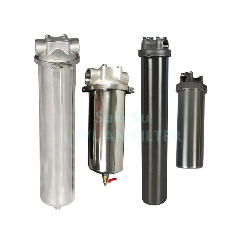 High quality one core 10 micron water filter housing 20 inch