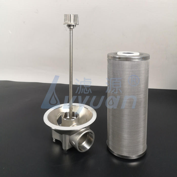 Liquid Oil water seperation 10 20 30 40 inch single cartridge filter housing with 5 microns oil field cartridge filter element