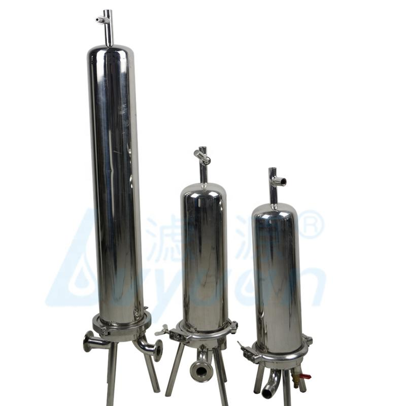 SS304/316 10'' 20 30 40 Inch Stainless Steel sanitary Cartridge Filter Housing for Sterile Filtration