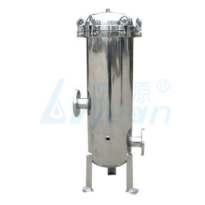 10 20 30 40 inch Food grade stainless steel cartridge filter housing ss316/304 for industrial water filtration