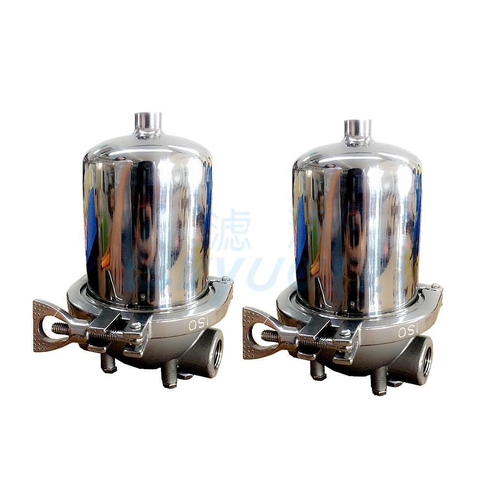 single cartridge filter housing filtre eau logement inox for water purification