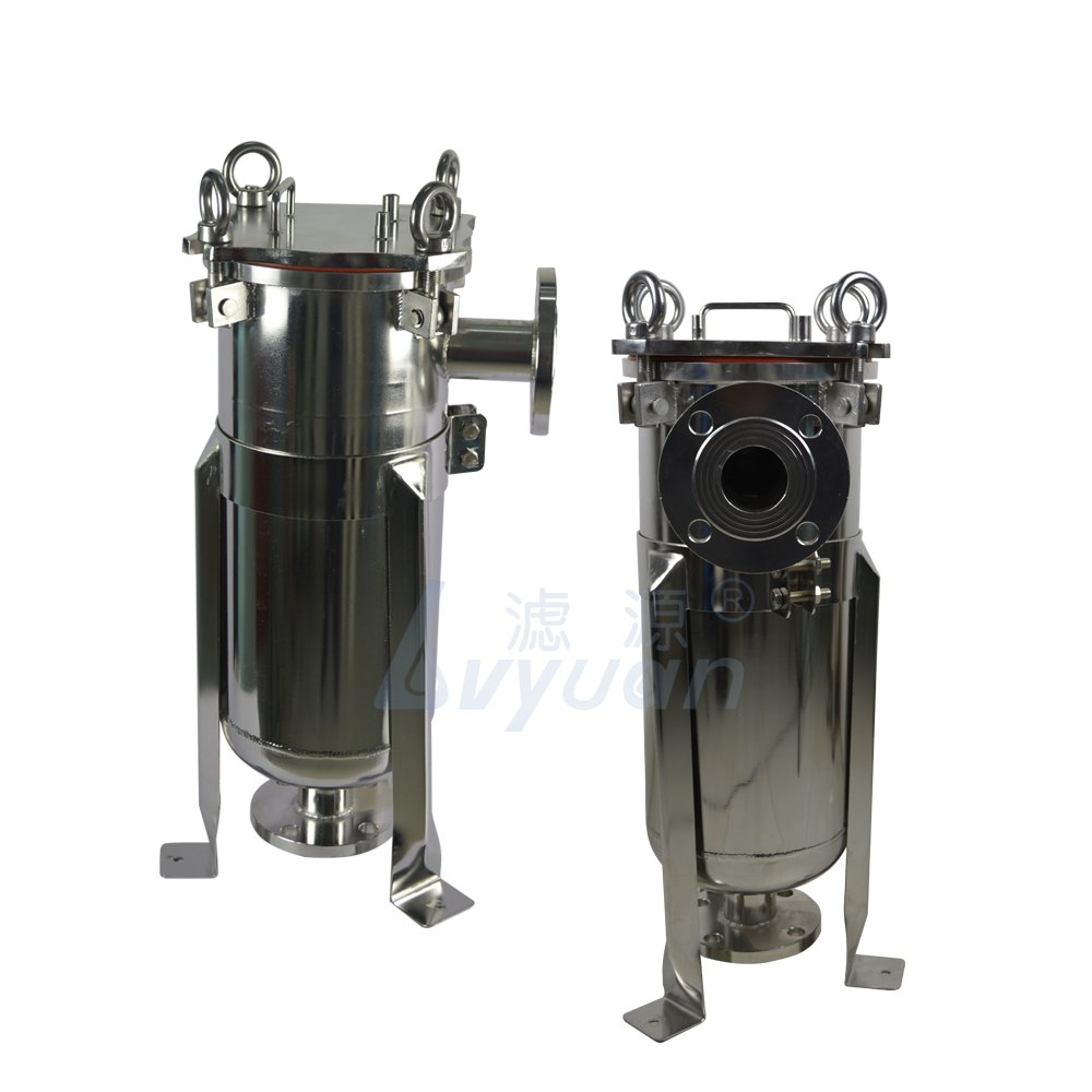 Stainless steel housing system 10/20/30/40 inch OEM microns cartridge water filter system with single/multi cartridge elements