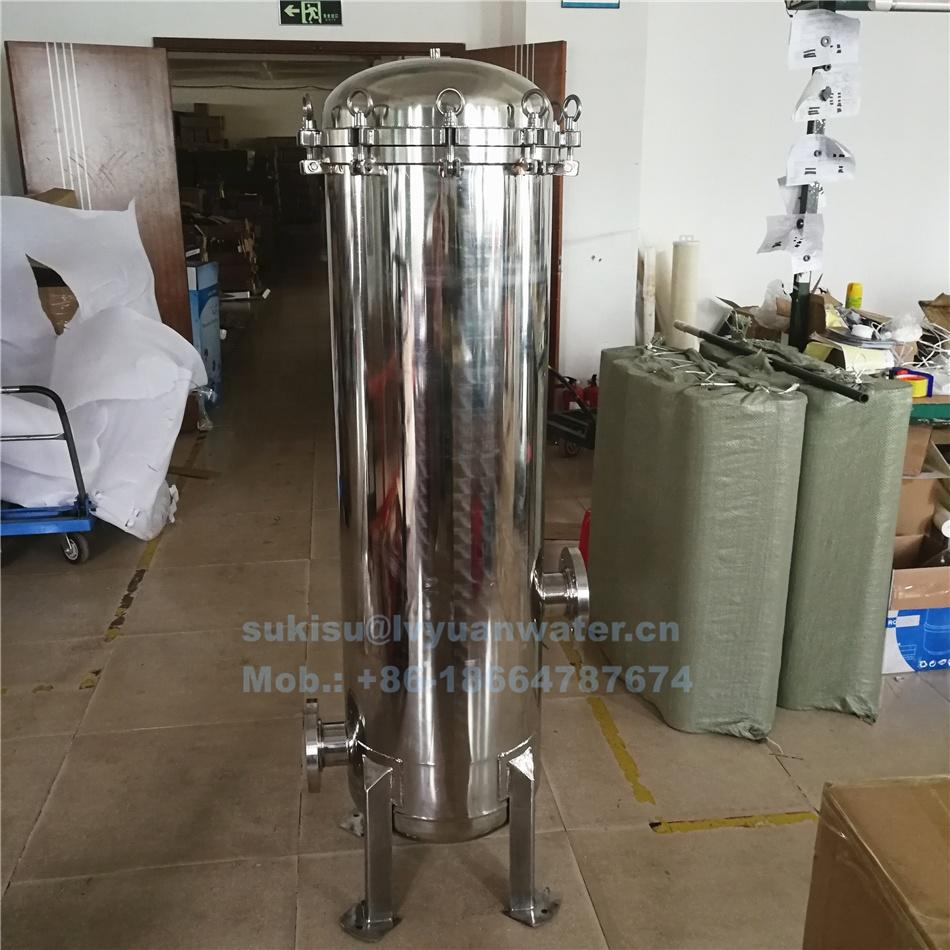 15 round position core element 40 inch Stainless Steel Cartridge Multi cartridges Filter Housing from factory China