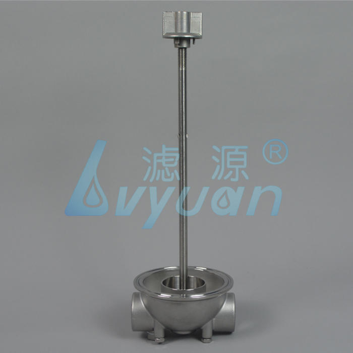 10 20 30 40 inch stainless steel SS 304 316 security cartridge filter housing for RO water pre treatment plant