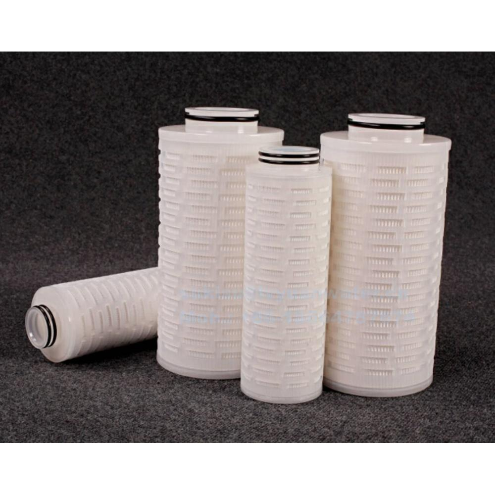 Industrial filters 10 20 inch Pure Polypropylene PP water cartridge filter housing for 222 226 334 end code pleated cartridges