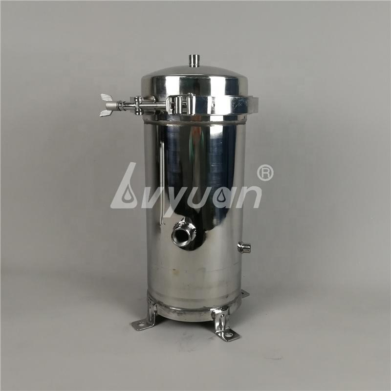 High Pressure Stainless Steel Water Cartridge Filter Housing for Liquid treatment equipment