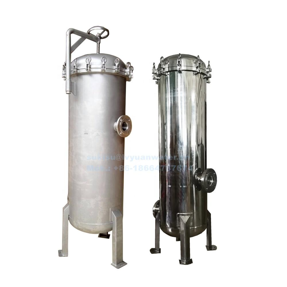 20 30 40 inch Multi Cartridge Filters Stainless Steel Water Filter Tank with 5 15 20 27 50 cores