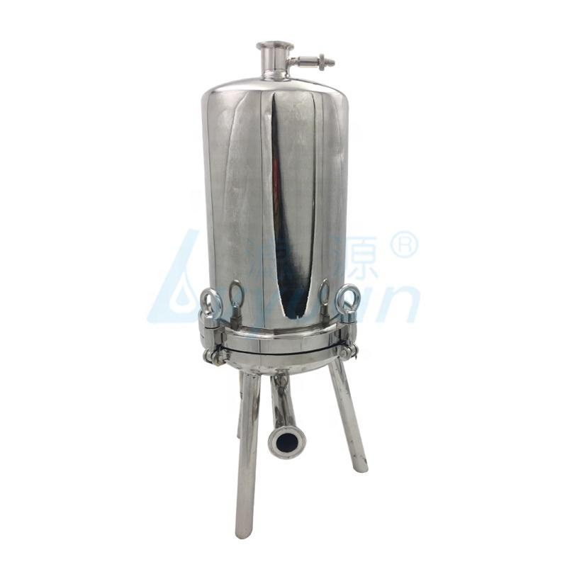 stainless steel multi-cartridge sanitary filter housing precision filter for industrial water filtration
