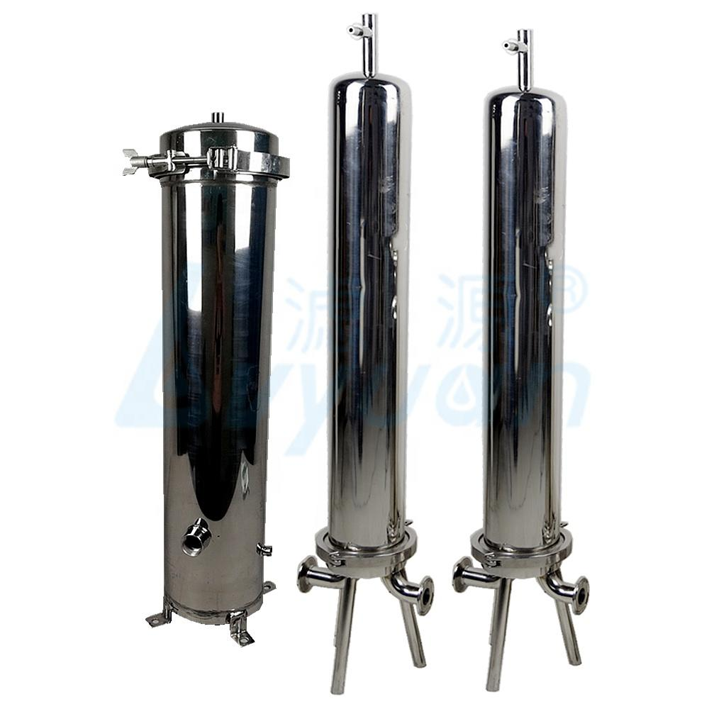 stainless steel cartridge housing 20'' ss filter housing for water pre treatment