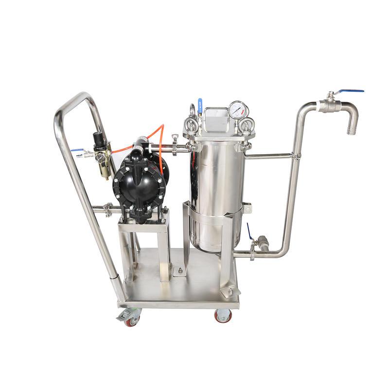 SS 304L 316lStainless steel gas filter housing gas filter machine gas filtration machine