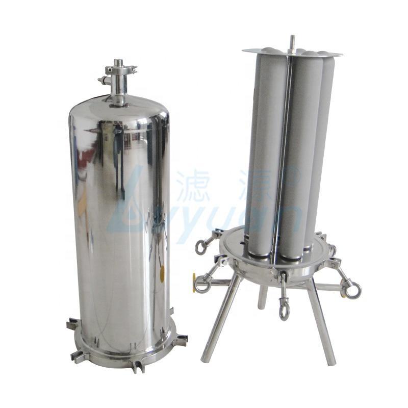 20 inch SS304 SS316 Stainless Steel code 7 cartridge Filter Housing/Sanitary Cartridge Filter