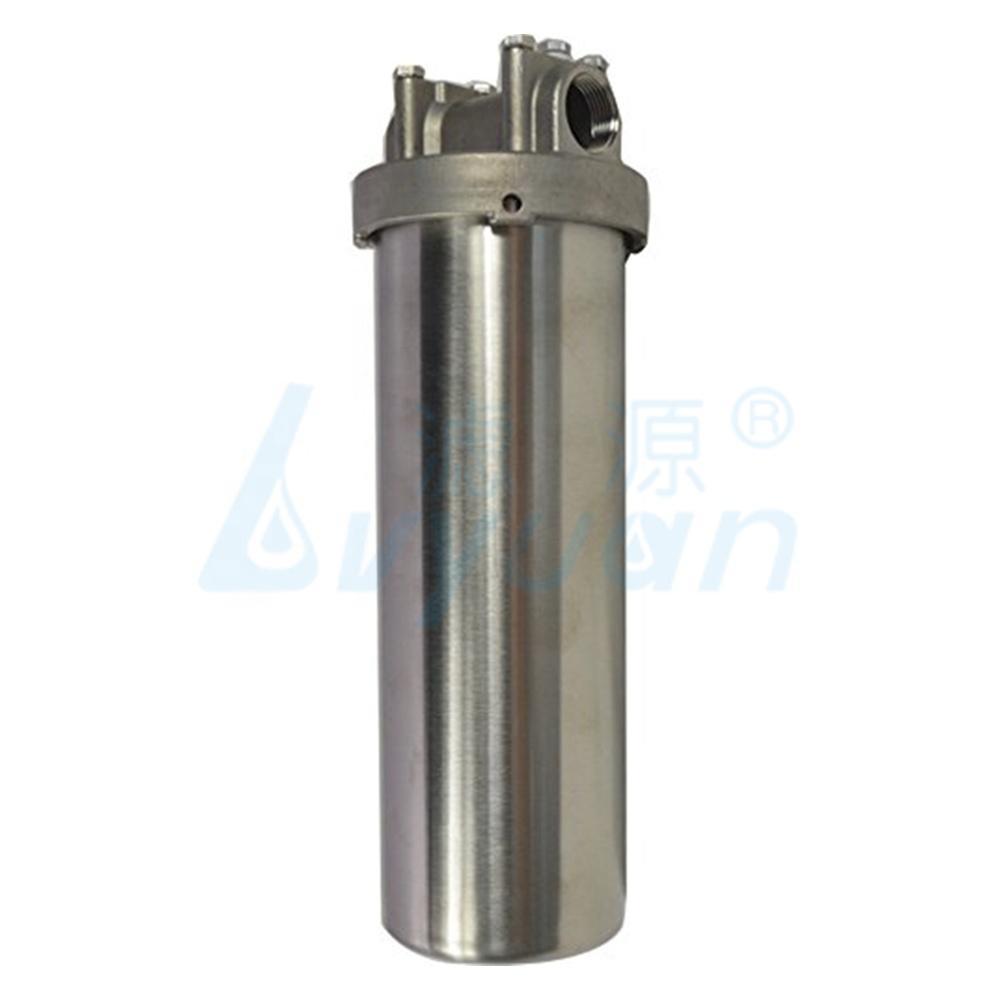 single cartridge filter housing /222flat 226flat cartridge stainless steel 10 inch water filter housing