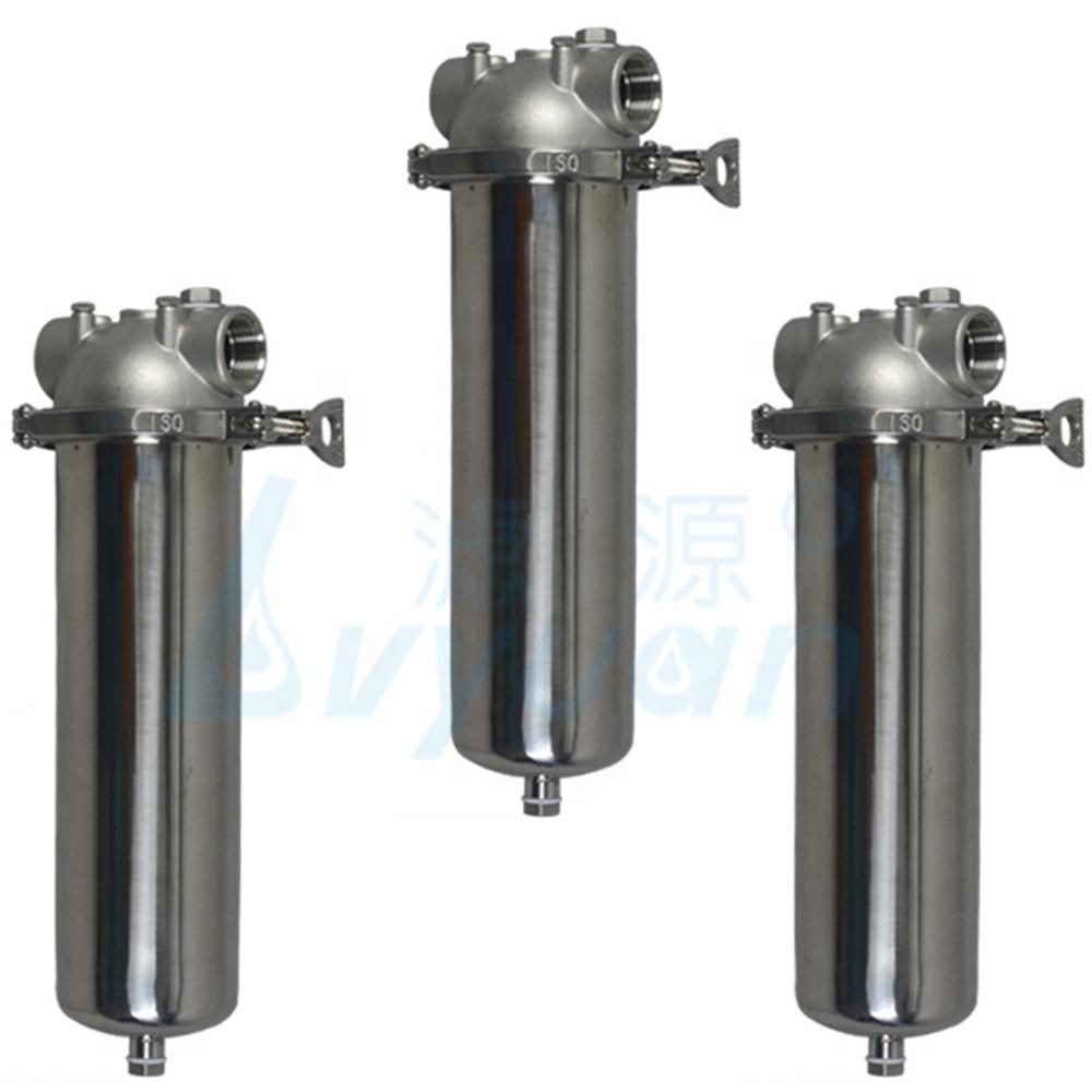 10 20 inch single cartridge filter housing Water purifier 30 40 stainless steel water filter housing for liquid filtration