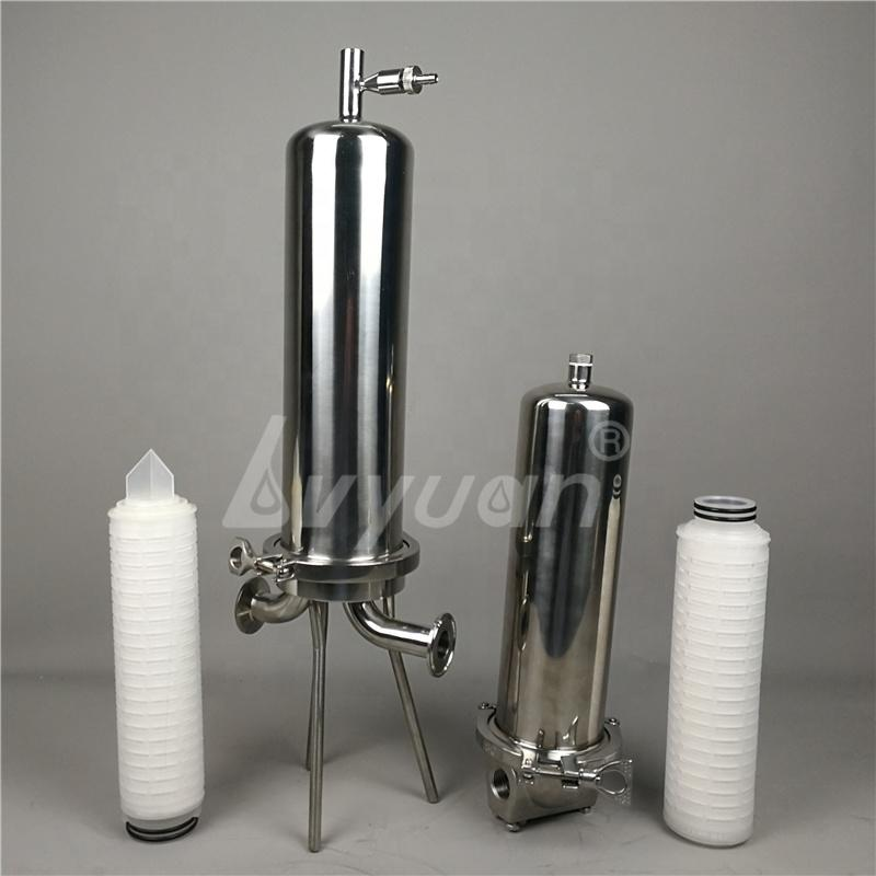 custom 222 226 DOE adaptor Cartridge filters Stainless Steel 304 Single Filter housing for final filtering