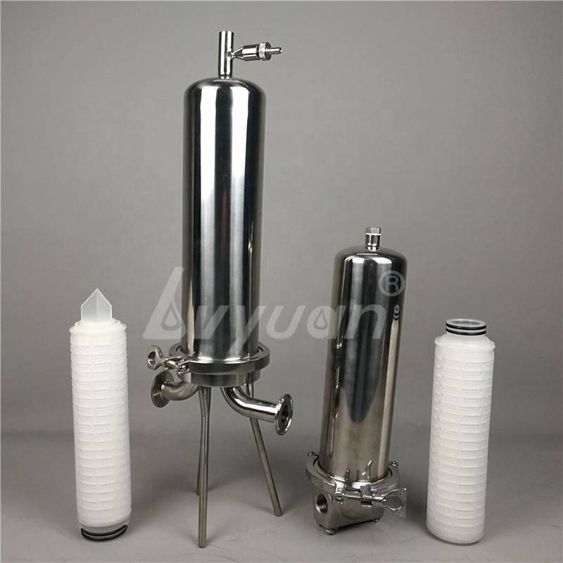 custom 222 226 DOE adaptor Cartridge filters Stainless Steel 304 Single Filter housing for final filtering