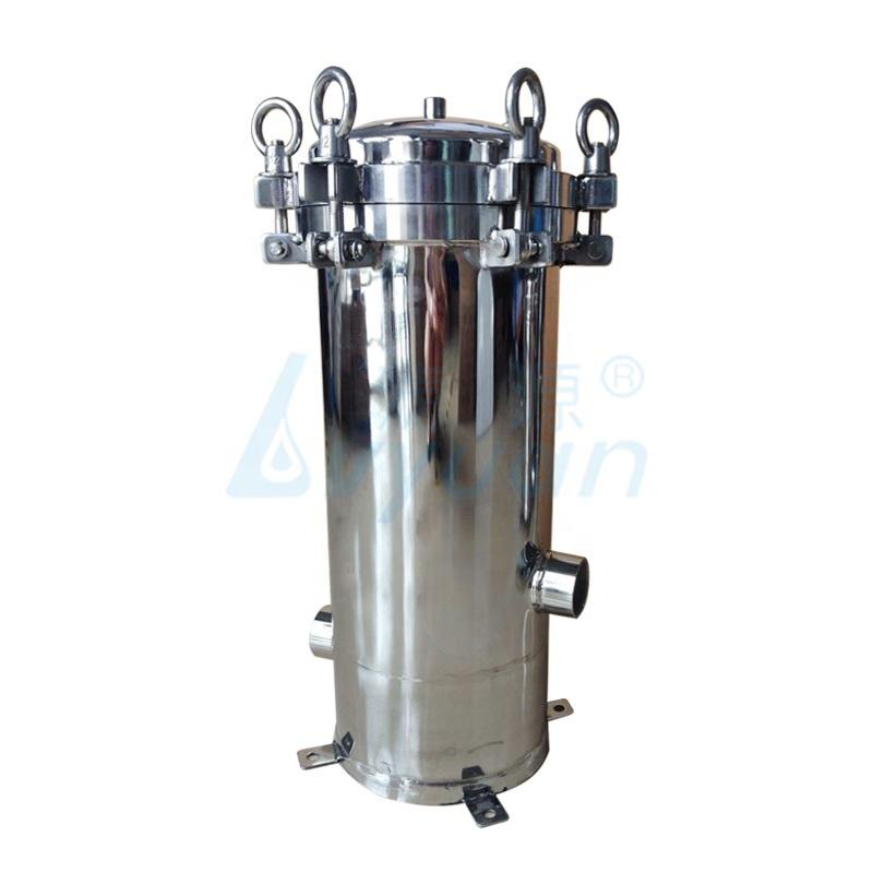 High filtration ss304 ss316 cartridge housing stainless steel filter housing for ro water plantpre treatment