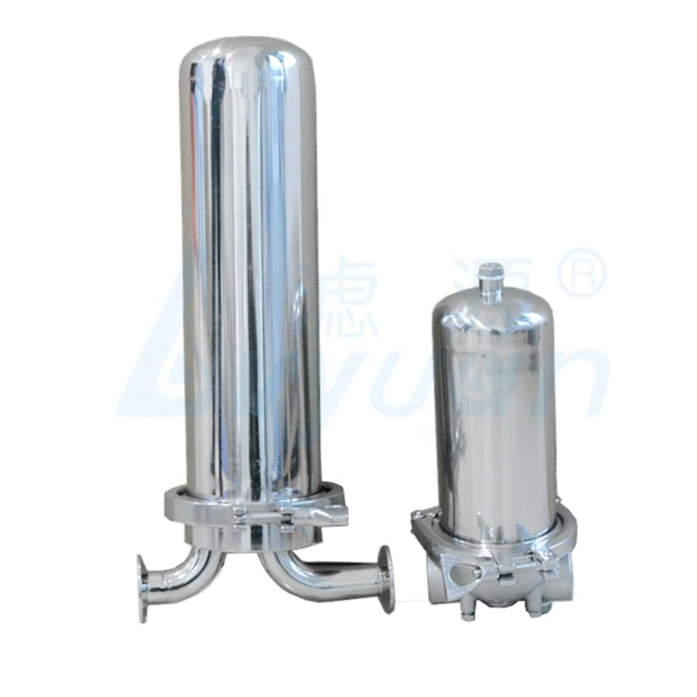 stainless steel single cartridge water filter housing ss 304 316 material housing filter for liquid filtration