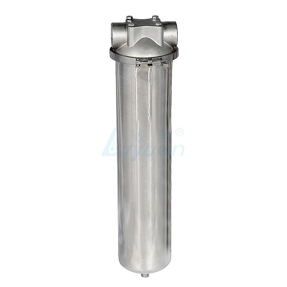 housing filter 20 inch water filter ss housing with cartridge for water treatment
