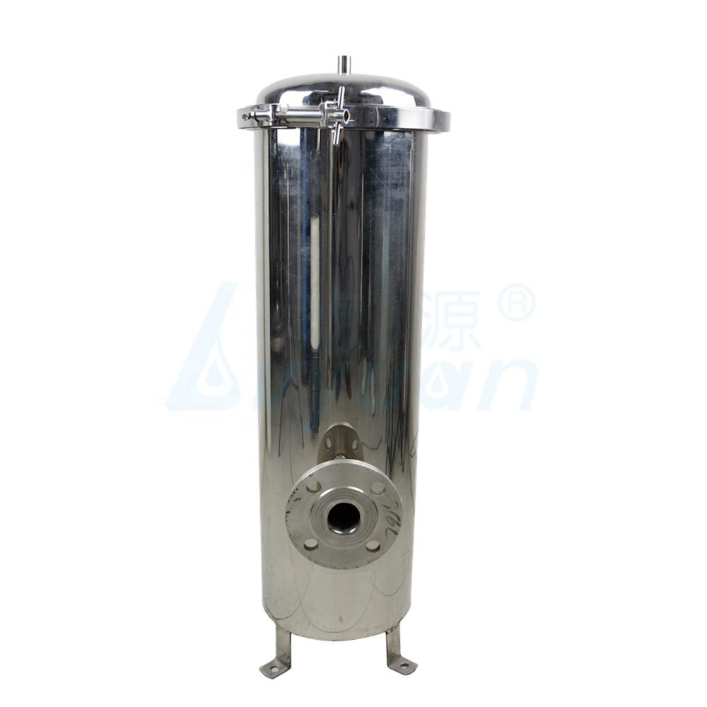 ss304 ss316 stainless steel water filter housing /cartridge filter housing for industrial water pre-filtration